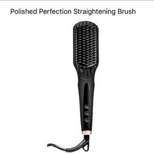 Amika Polished Perfection Straightening Brush Flat